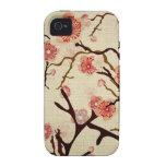 Vintage Cherry tree Case-Mate Case iPhone 4/4S Cases