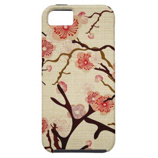 Vintage Cherry tree Case-Mate Case iPhone 5 Cases