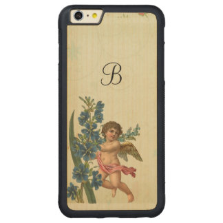 Vintage Cherub Angel Carved® Maple iPhone 6 Plus Bumper Case