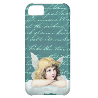 Vintage cherub angel on a cloud iPhone 5C case