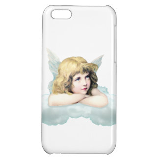 Vintage cherub angel on a cloud iPhone 5C cover