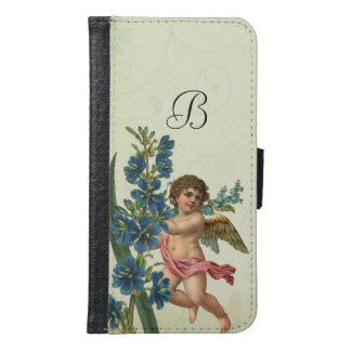 Vintage Cherub Angel Samsung Galaxy S6 Wallet Case