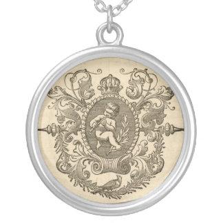 Vintage Cherub Sterling Silver Necklace