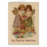 vintage cherub valentine cards