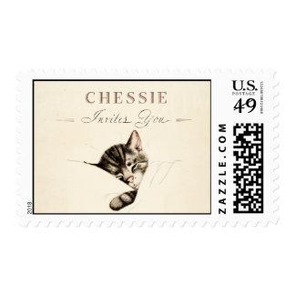 Vintage Chessie Postage Stamp