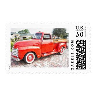 Vintage Chevrolet Truck Postage