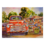 Vintage Chevy Canvas Print