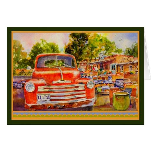 Vintage Chevy Custom Greeting Card