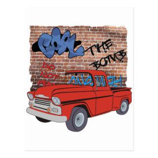 Vintage Chevy Pickup Truck Postcard