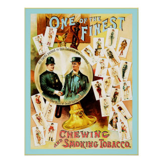 Vintage Chewing and Smoking Tobacco Label Posters