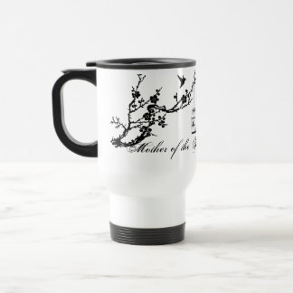 Vintage chic birds birdcage Mother of the bride Travel Mug