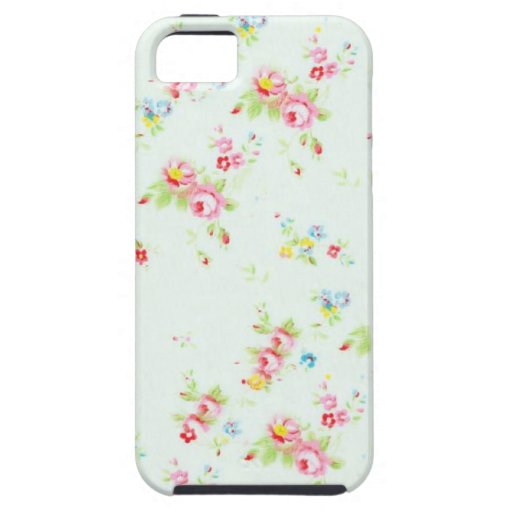 Vintage chic floral roses pink shabby rose flowers iPhone 5 covers
