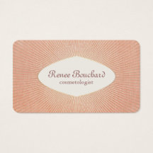 Sunburst business cards templates zazzle reheart Image collections