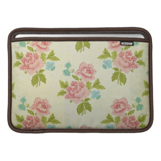 Vintage Chic Rose Floral MacBook Air Sleeve