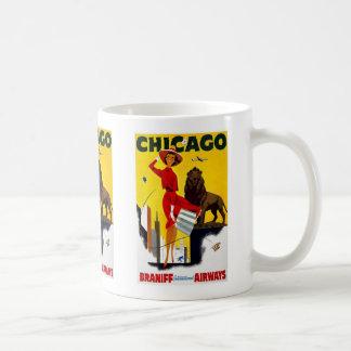 Vintage Chicago Advertisement Coffee Mug