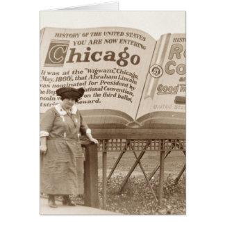 Vintage Chicago Billboard Greeting Cards
