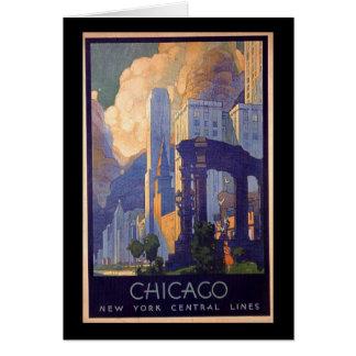 Vintage Chicago Card