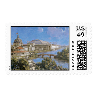 Vintage Chicago Columbian Exposition Postage Stamp