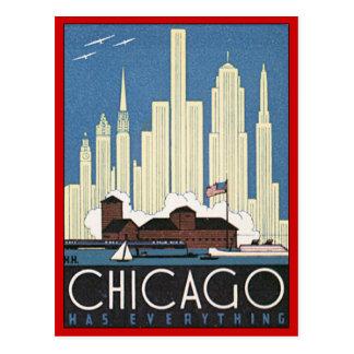 Vintage Chicago Illinois Postcards