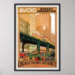 Vintage Chicago, los E.E.U.U. - Impresiones