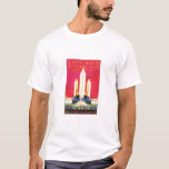Vintage Chicago Poster T-shirt