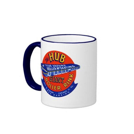 Vintage Chicago Roller Rink Mug