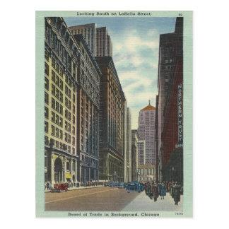 Vintage Chicago Tarjetas Postales