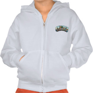 Vintage Chicago Hooded Pullover