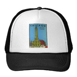 Vintage Chicago Water Tower Trucker Hat