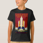 Vintage Chicago World's Fair A Century of Progress T-Shirt