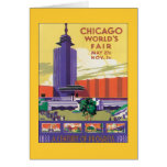 Vintage Chicago World's Fair Card