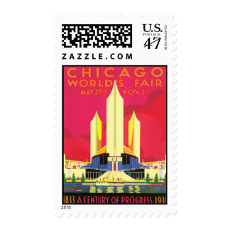 Vintage Chicago World's Fair Postage