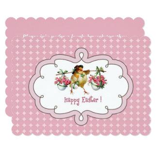 Vintage Chick Custom Easter Brunch Invitations