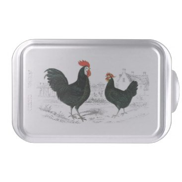 chicken cake pans