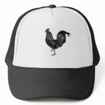 Vintage Chicken Hat
