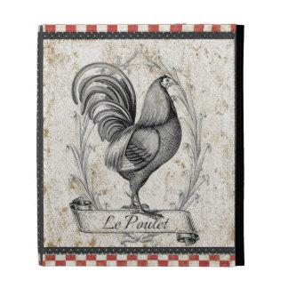 Vintage Chicken iPad Folio Cases