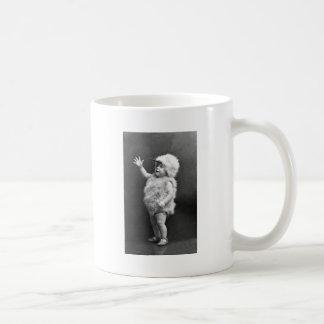 Vintage Chicken Suit Girl Easter Costume Coffee Mug