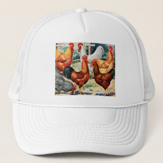 Vintage Chickens Roosters For Sale Catalog Ad Trucker Hat