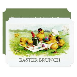 Vintage Chicks Custom Easter Brunch Invitations