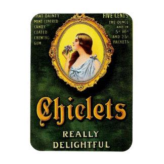 Vintage Chiclets Ad Magnet