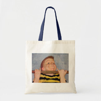 Vintage Child, Boy Doing Chin Ups, Exercise Sports Tote Bag