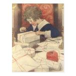 Vintage Child, Christmas Eve, Jessie Willcox Smith Post Cards