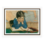 Vintage Child in Class by Jessie Willcox Smith Postcards
