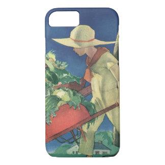 Vintage Child, Organic Gardening; Victory Garden iPhone 8/7 Case