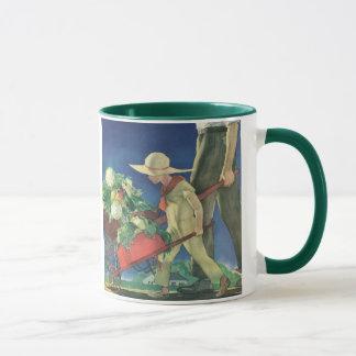 Vintage Child, Organic Gardening; Victory Garden Mug