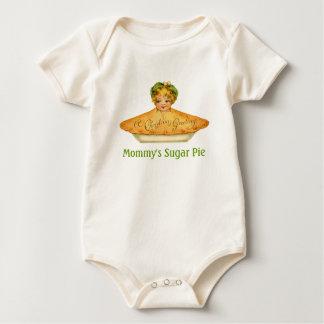 Vintage Child & Pie Baby Bodysuit