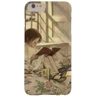 Vintage Child Reading a Book, Jessie Willcox Smith Barely There iPhone 6 Plus Case