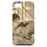 Vintage Child Reading a Book, Jessie Willcox Smith iPhone 5 Cover