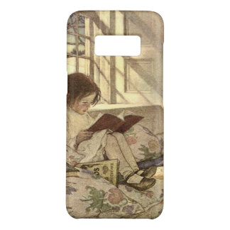 Vintage Child Reading a Book, Jessie Willcox Smith Case-Mate Samsung Galaxy S8 Case