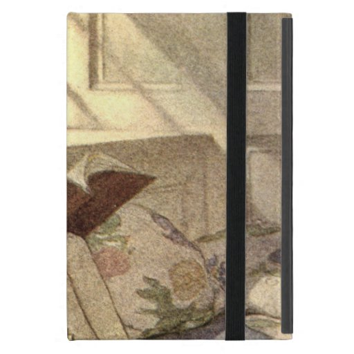 Vintage Child Reading a Book, Jessie Willcox Smith iPad Mini Covers